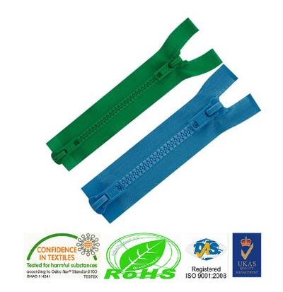 3# 4# 5# 8# 10# Customized double sided open end plastic zipper